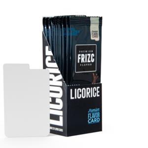 Novus Fumus Licorice Flavor Card