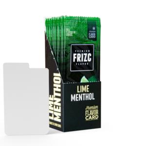 Novus Fumus Lime Menthol Flavor Card