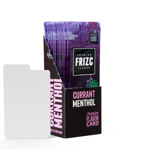 Novus Fumus Currant Menthol Flavor Card