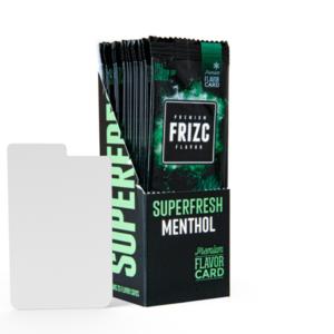 Novus Fumus Superfresh Menthol Flavor Card