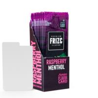 Raspberry Menthol Geschmackskarte