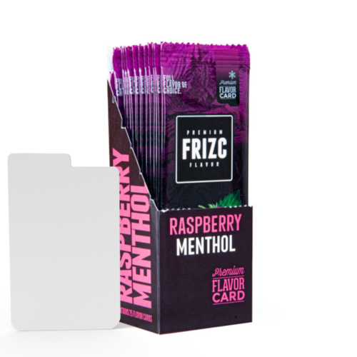 Novus Fumus Raspberry Menthol Geschmackskarte