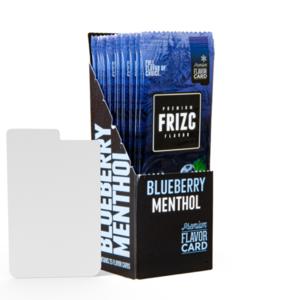 Novus Fumus Blueberry Menthol Geschmackskarte
