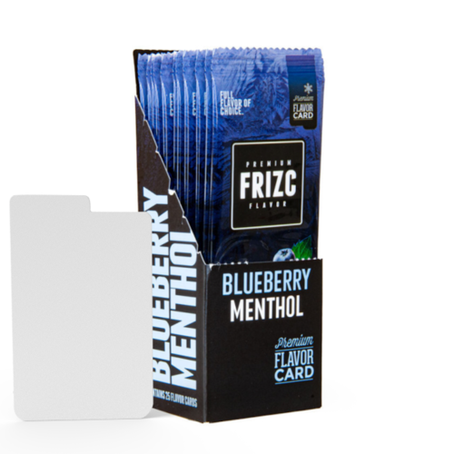 Novus Fumus Blueberry Menthol Flavor Card