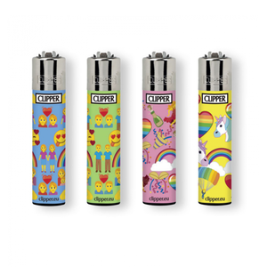 Clipper Emoji Pride- Feuerzeug