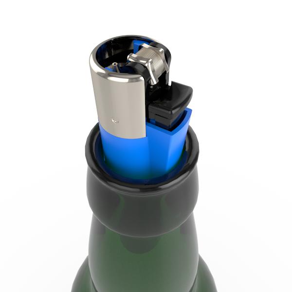 Clipper beer bottle