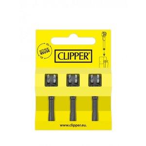 Clipper flint holder