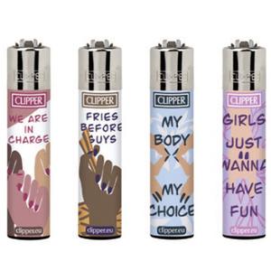 Clipper Feminismus - Feuerzeug