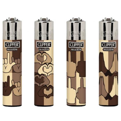 Clipper Emoji Hands - Lighter