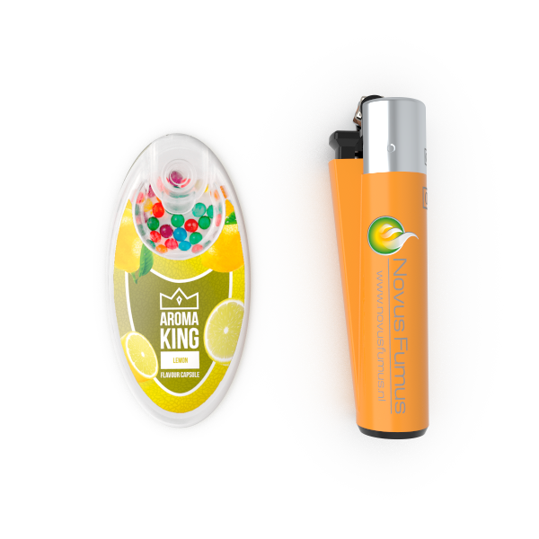 Size of Aroma King compared to Clipper Lighter