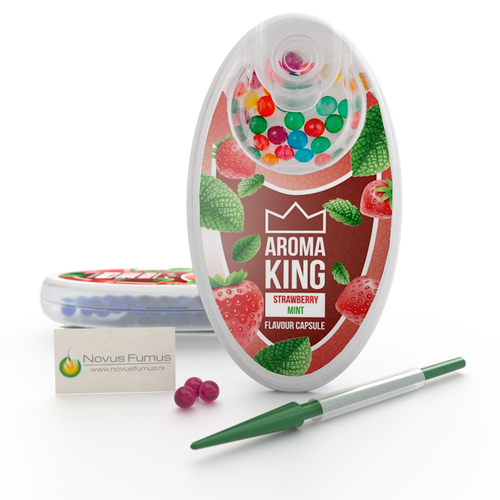 Aroma King Ice Strawberry klik bolletjes