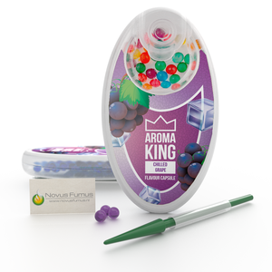 Aroma King Ice Grape Click flavour capsules