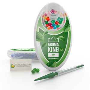 Aroma King Mint Click flavour capsules