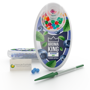 Aroma King Blueberry Mint Click flavour capsules