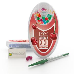 Aroma King Aroma King Kersensmaak klik bolletjes voor sigaretten - Inclusief Inserter