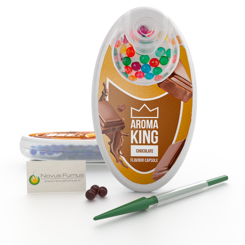 Aroma King Aroma King Chocolate Flavour Click capsules -  Inserter included