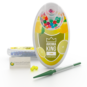 Aroma King Aroma King Lemon Flavour Click capsules -  Inserter included