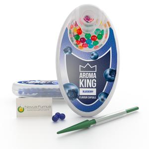Aroma King Blaubeeregeschmack Kapseln für Zigaretten