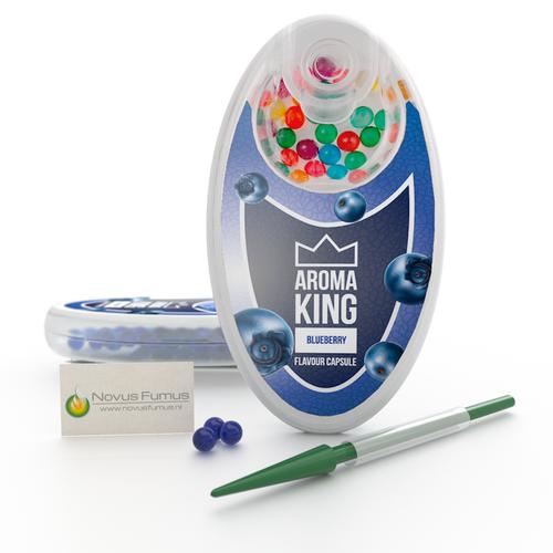 Aroma King Blueberry klik bolletjes