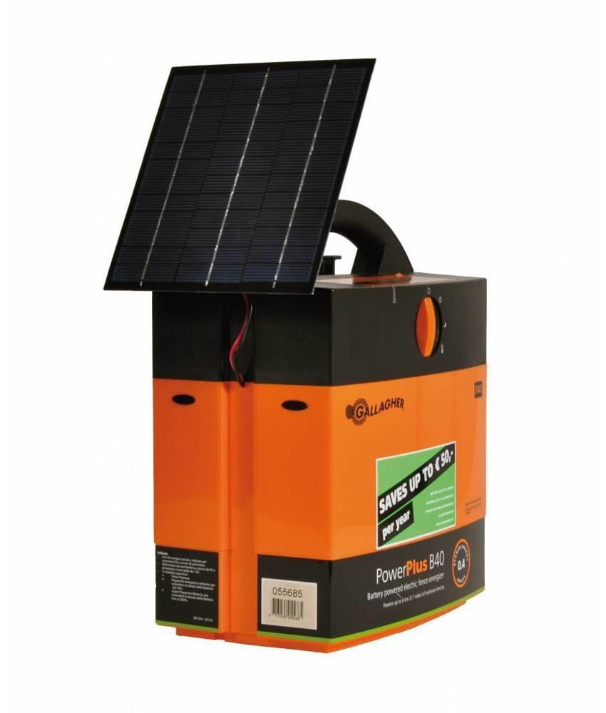 Gallagher Batterijapparaat B40 inclusief 4 watt zonnepaneel