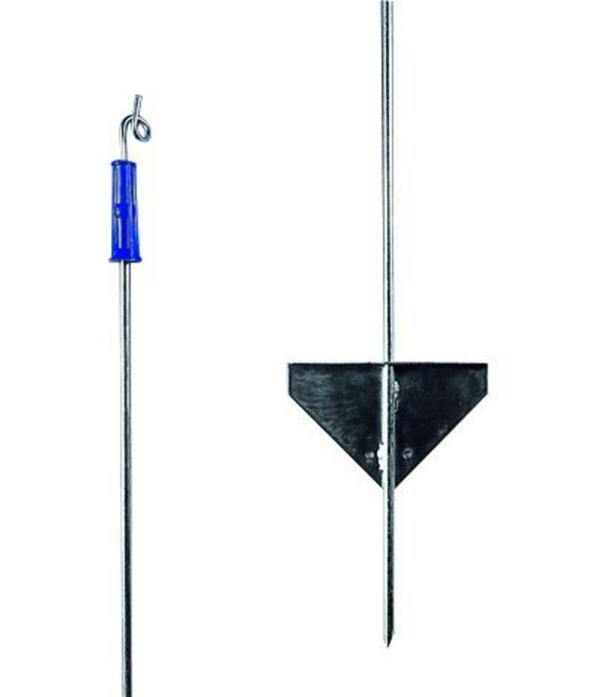 Gallagher Metalen paal 1,10 m met topisolator (10 stuks)
