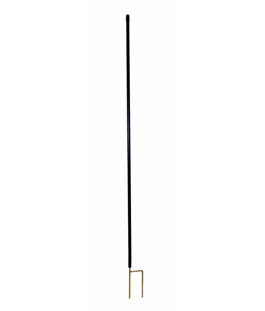 Gallagher Hertenpaal kunststof 2,00 m zwart (10 stuks)