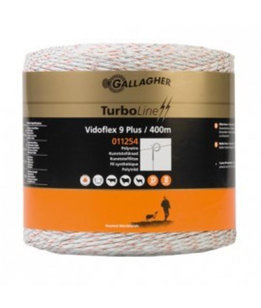 Gallagher Vidoflex 9 Turboline Plus wit 400 m