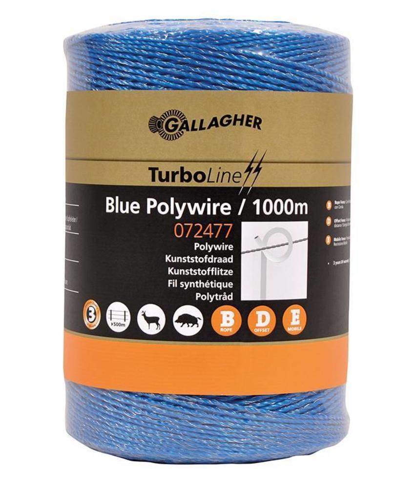 Gallagher Koord blauw 1000 m