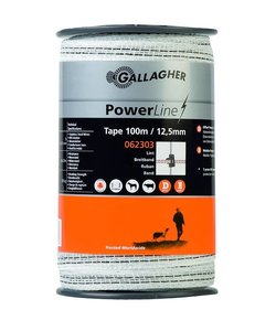 PowerLine lint 12,5 mm wit 100 m