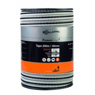 PowerLine lint 40 mm wit 200 m
