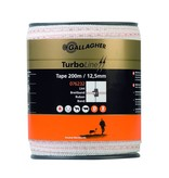 Gallagher TurboLine lint 12,5 mm wit 200 m