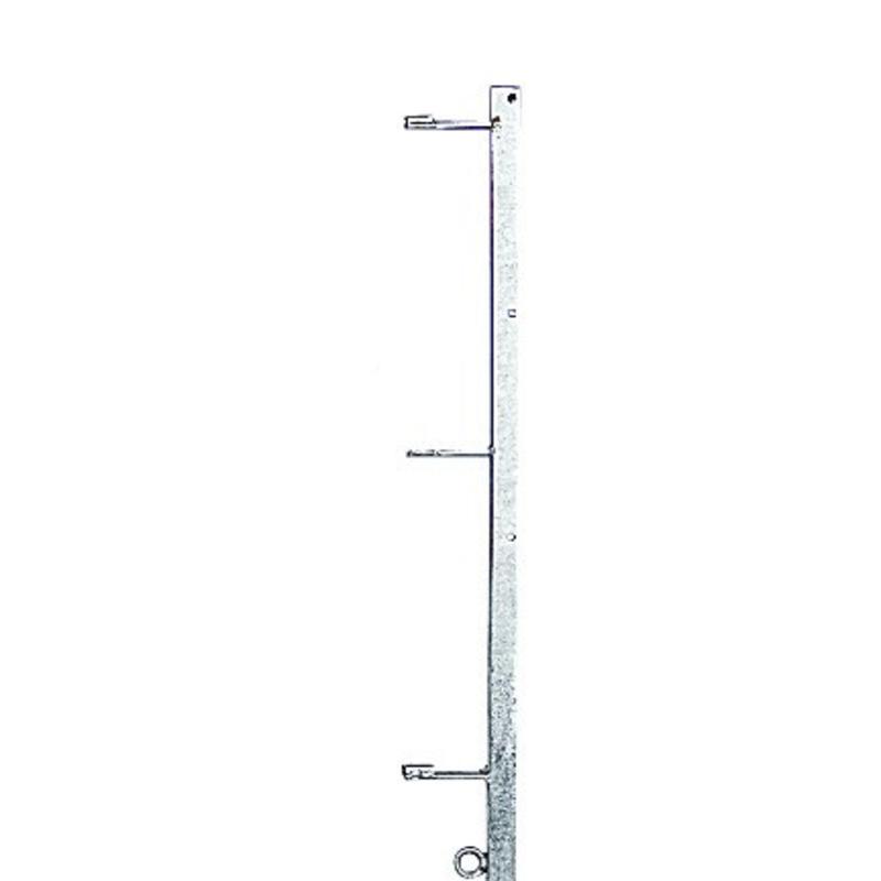 Gallagher Haspelhoekpaal 3 haspels - 3 isolatoren