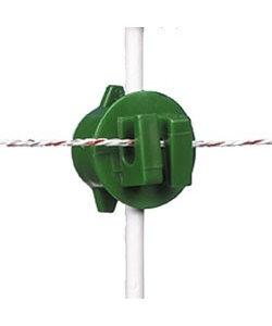 Schroefisolator groen ø 6-14 mm 20 st