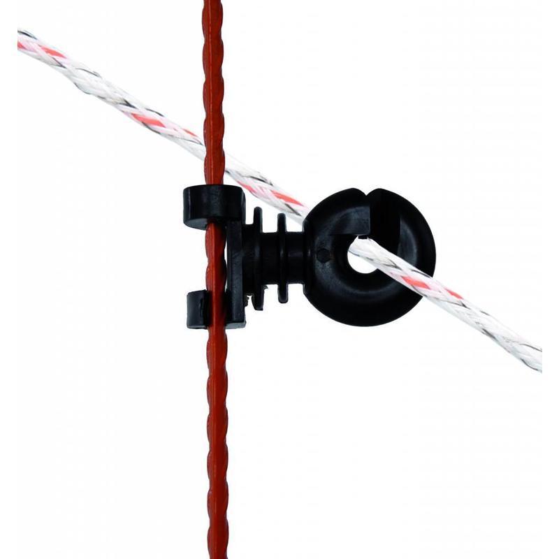 Gallagher Verstelbare isolator voor veerstalen paal 10 st