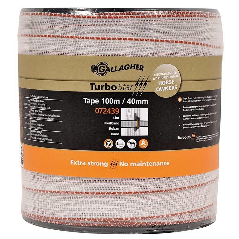 Gallagher TurboStar Super lint 40 mm wit 100 m