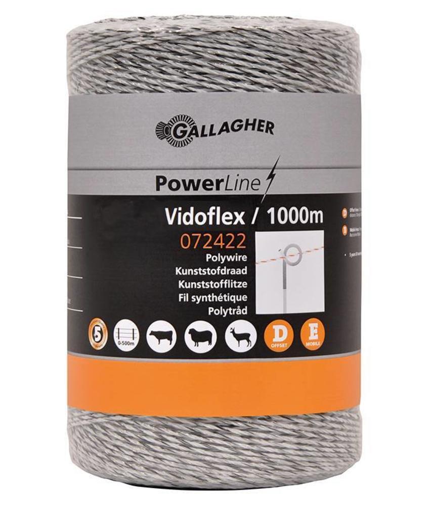 Gallagher Vidoflex 6 wit 1000 m