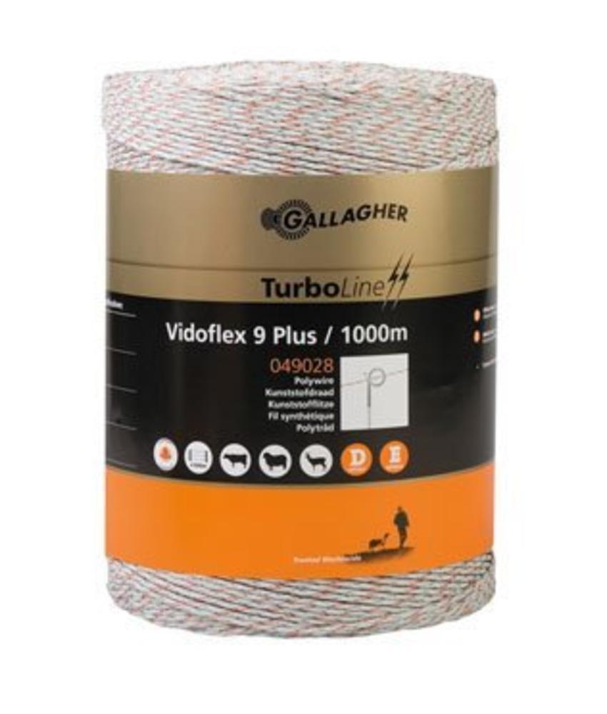 Gallagher Vidoflex 9 TurboLine Plus wit 1000 m