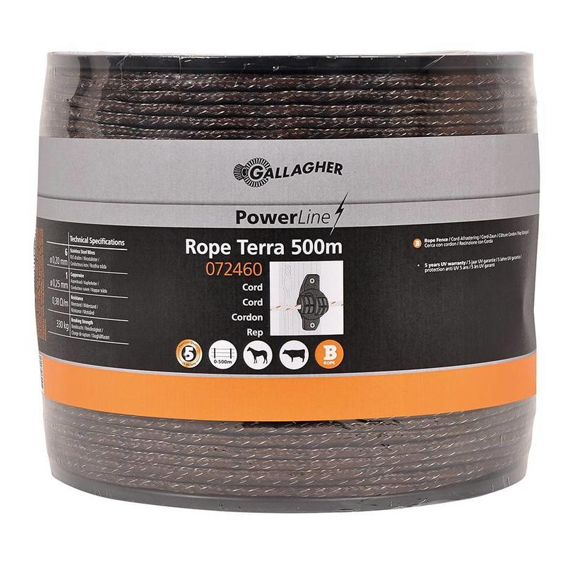 Gallagher PowerLine cord terra 500 m