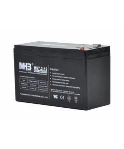 Batterij 12V 7.2Ah tbv S100, S200 en S400
