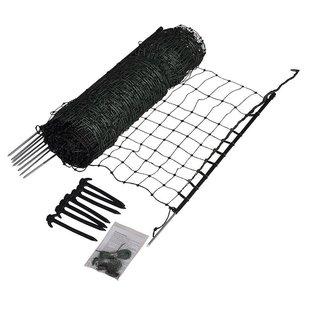 Konijnen-/hobbynet 65cm - 25m (enkele pen)