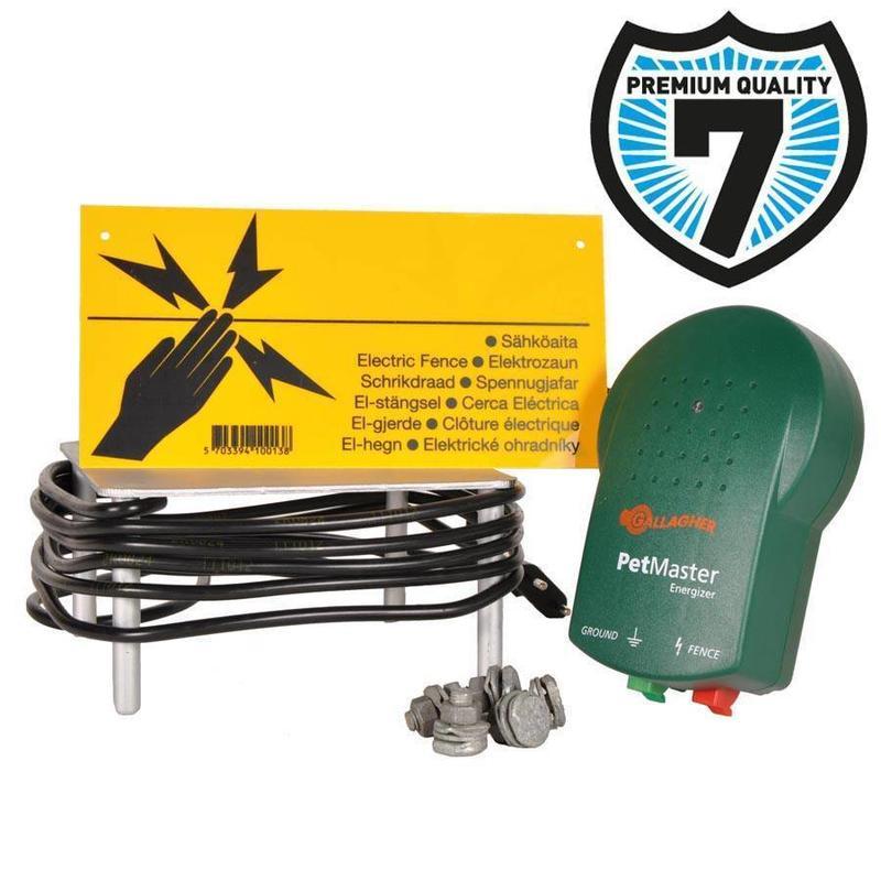 Gallagher M10 Starter kit (schrikdraadapparaat + accesoires)