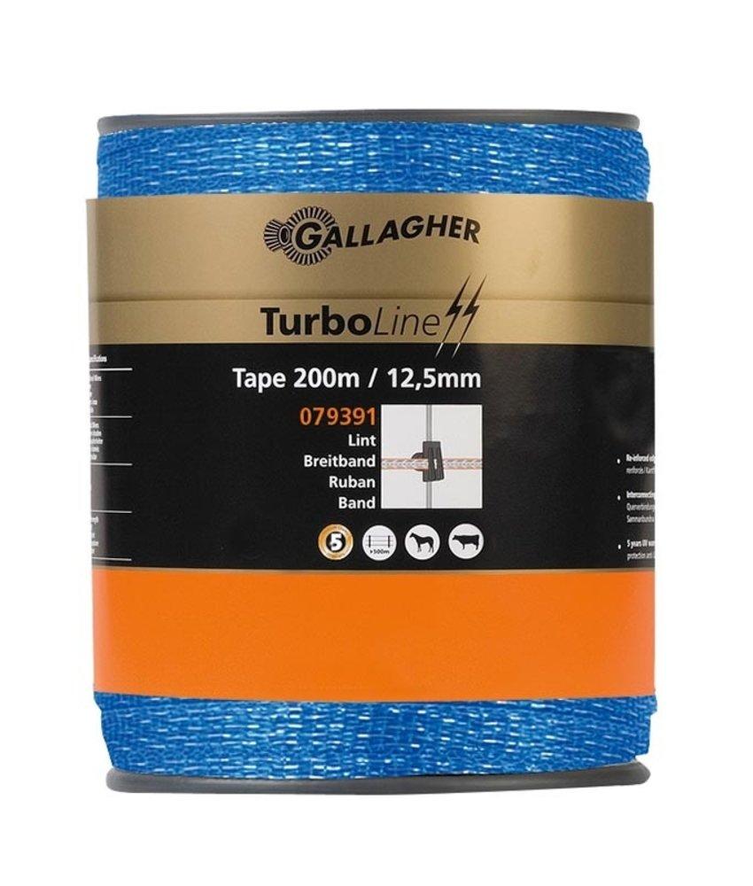 Gallagher TurboLine lint 12,5 mm blauw 200 m