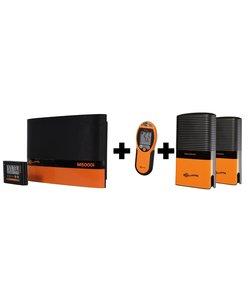 M5000i incl. 2x Afrastering monitor (1 gratis) en 1 afstandsbediening