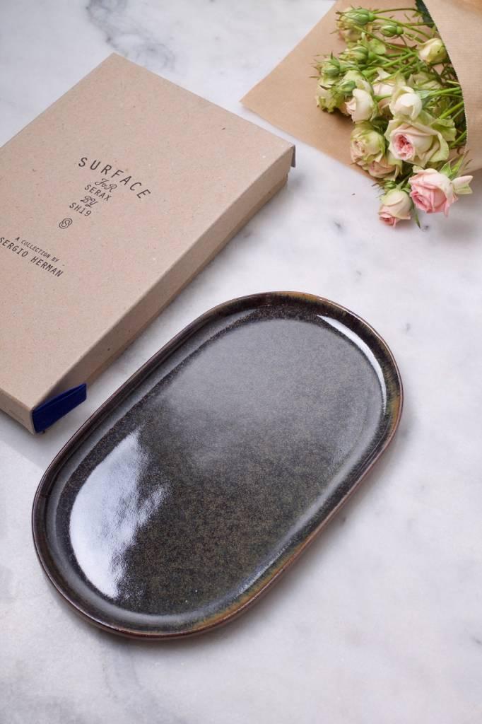 2 Serax Tapas plates by Surface Sergio Herman