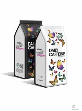Daily Caffeine - RAINFOREST ALLIANCE coffee beans