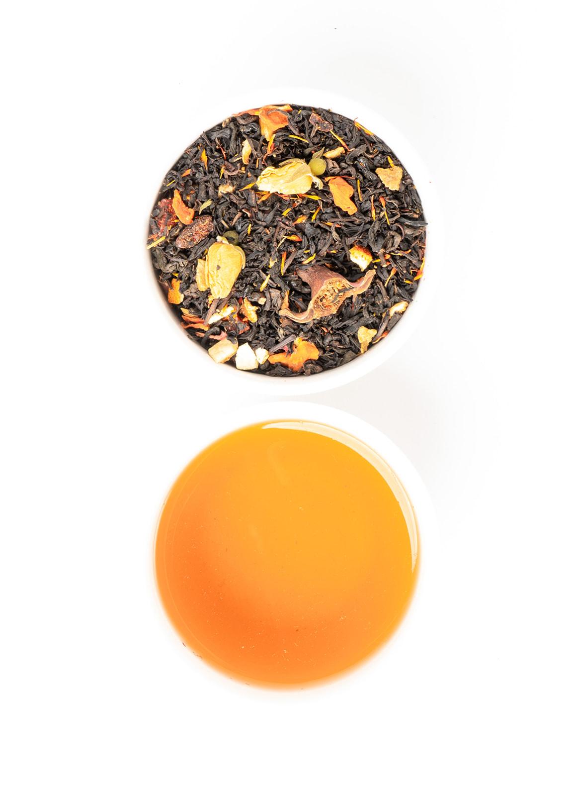 Black Oxi Goji - black tea with goji & pomegranate