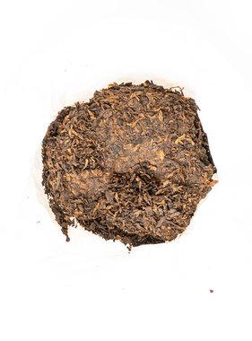 Organic Pu- erh black tea cake 200 gr 2-3y old