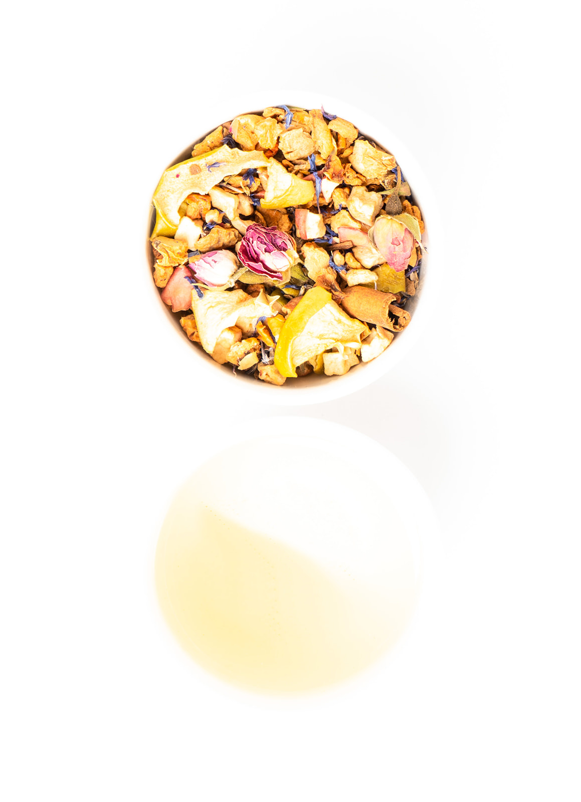 Apple Rose with whole pieces of Golden Smith