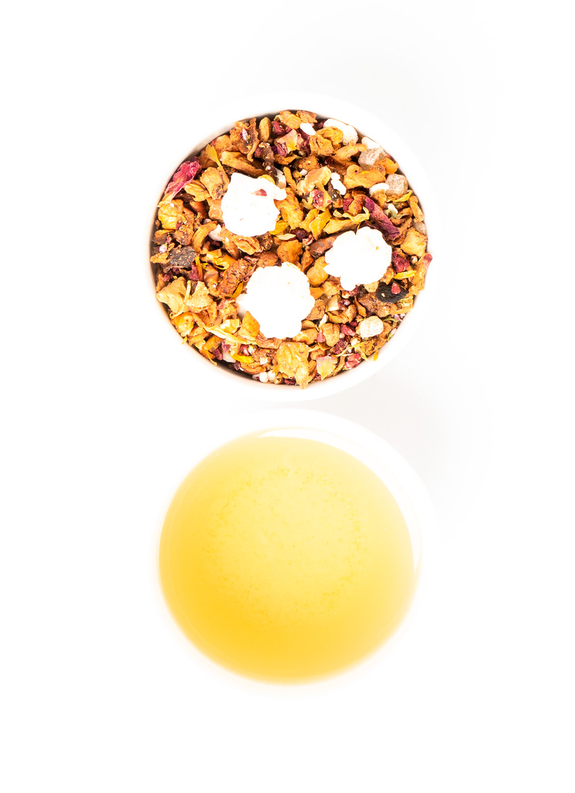 Pop the Champagne - mix this tea with Champagne or Prosecco