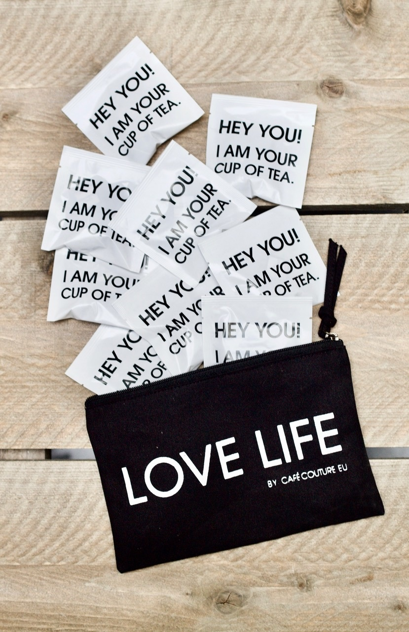 Love Life envelope with10 delicious Chill Chamomile tea pyramids